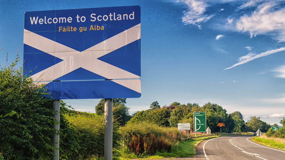 Newsroom - motorway Scotland