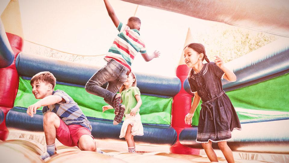 Newsroom - bouncy castle kids party - public liability