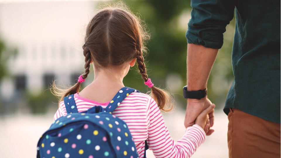 Newsroom - kid walking to school